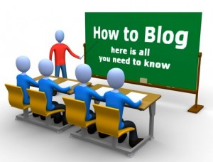 Blogging pe fata si pe dos