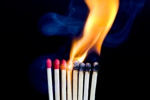 Toate paiele pe care le arzi…