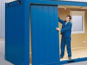 Cum se monteaza containerele de locuit
